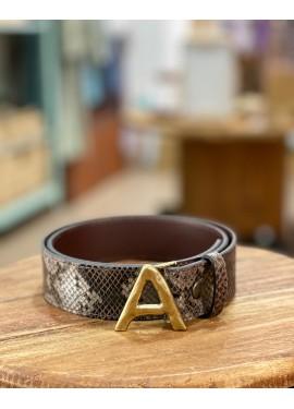 """Cinturón serpiente """"A"""""""